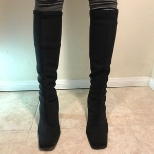 Shoes - Women's size 11 black long heeled boots